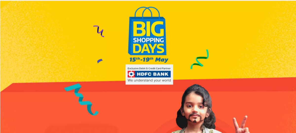 Flipkart Big Shopping Days Sale Starts May 15, Offers Preview Releases Tomorrow