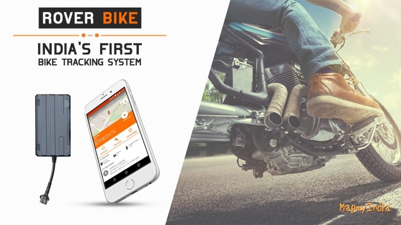 MapmyIndia Launches Rover Bike to Provide Live Location Updates of Your Vehicle