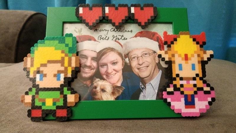 bill gates secret santa family picture story Bill Gates Family Picture