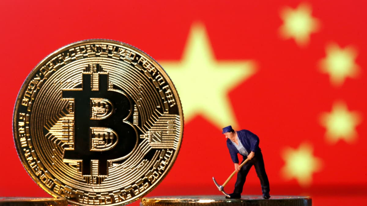 Bitcoin Dives to a Six-Month Low on China Crackdown