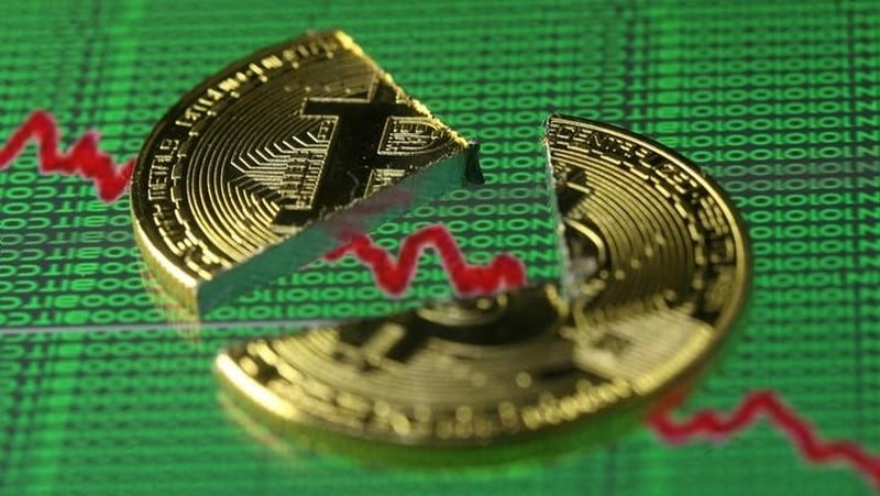 Bitcoin Falls Below $10,000, Half Its Peak, Before Rebounding Slightly