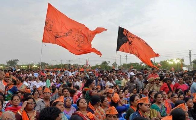 bjp rally karnataka elections afp