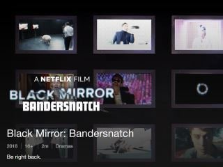 Netflix Says Black Mirror: Bandersnatch a 'Huge Hit in India', Will Make More Interactive Shows