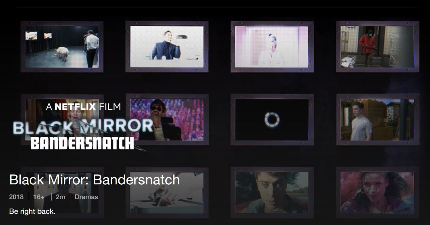 Netflix teases mysterious Black Mirror film