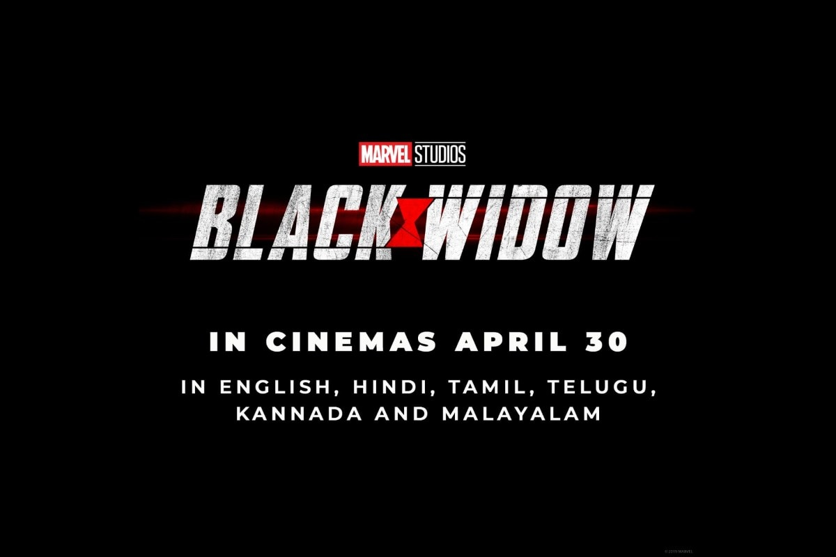 Black Widow India Release Date Brought Forward To April 2020 Entertainment News