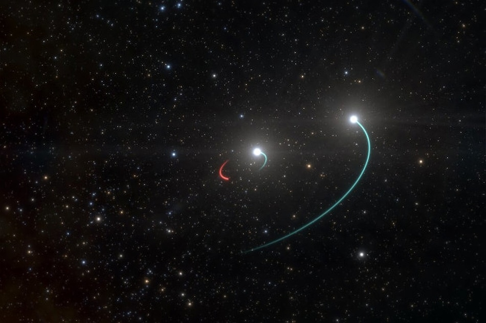 Black Hole Closest to Earth Discovered, a 'Silent' Whose Companion Stars Are Visible to Naked Eye: ESO