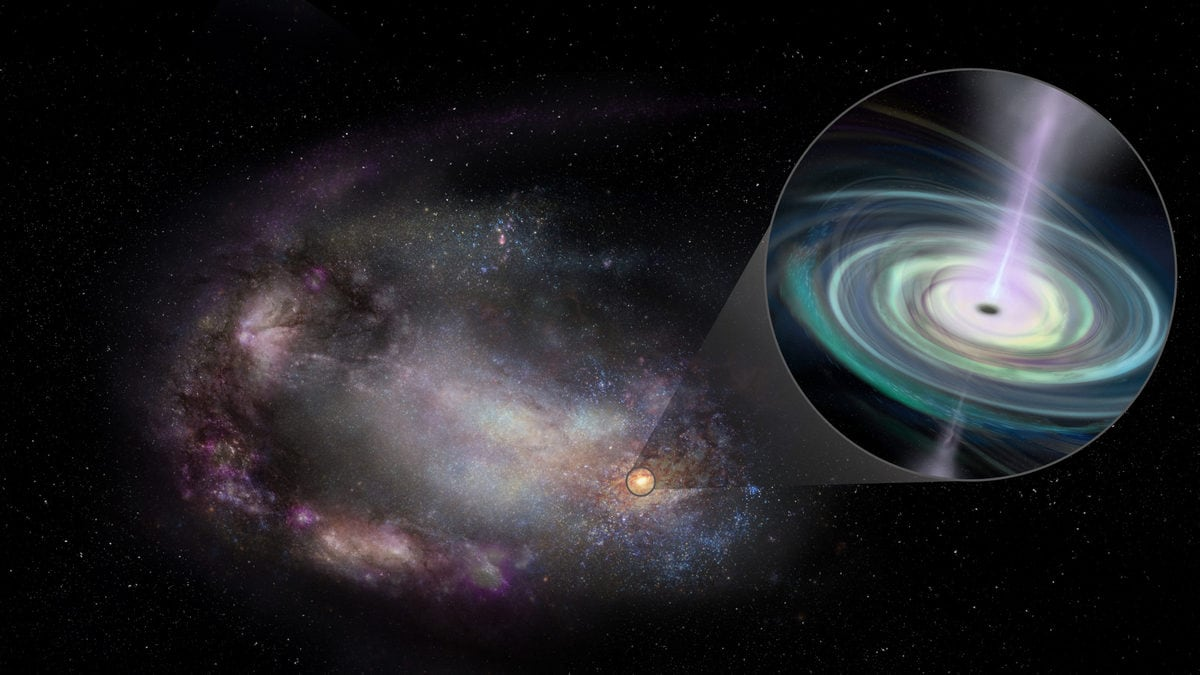 13 massive wandering black holes spotted not far from Earth