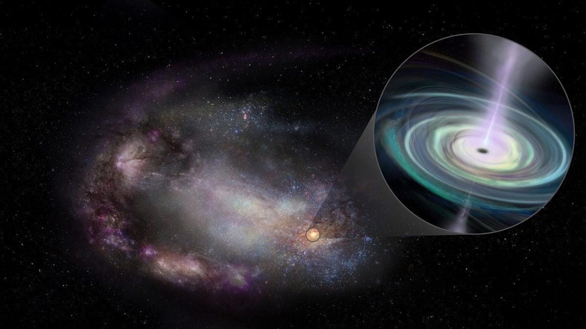 Study Finds 13 Massive Black Holes in Dwarf Galaxies