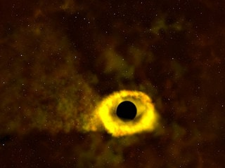 NASA Video Shows a Black Hole Ripping Apart an Unfortunate Star the Size of Our Sun