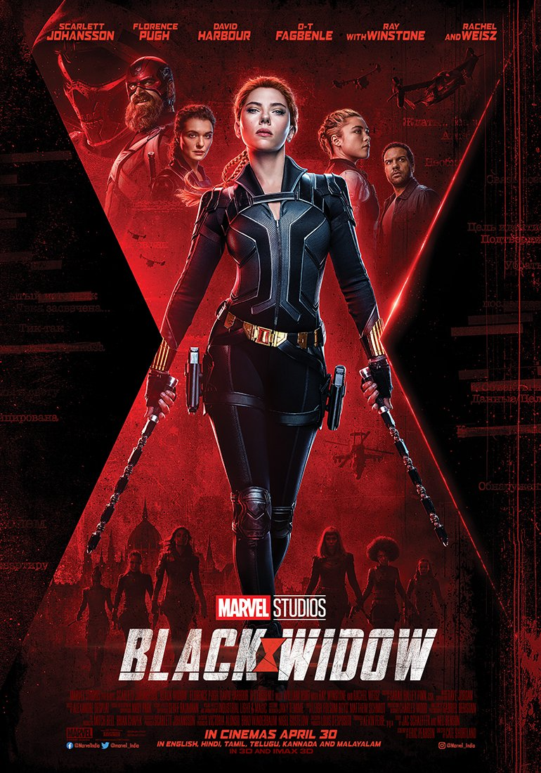 black widow poster Black Widow poster