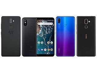 BlackBerry Evolve vs Xiaomi Mi A2 vs Huawei Nova 3i vs Nokia 7 Plus: Price, Specifications Compared