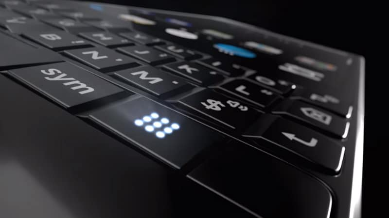 BlackBerry KEY2 teaser shows off design and new physical keyboard button
