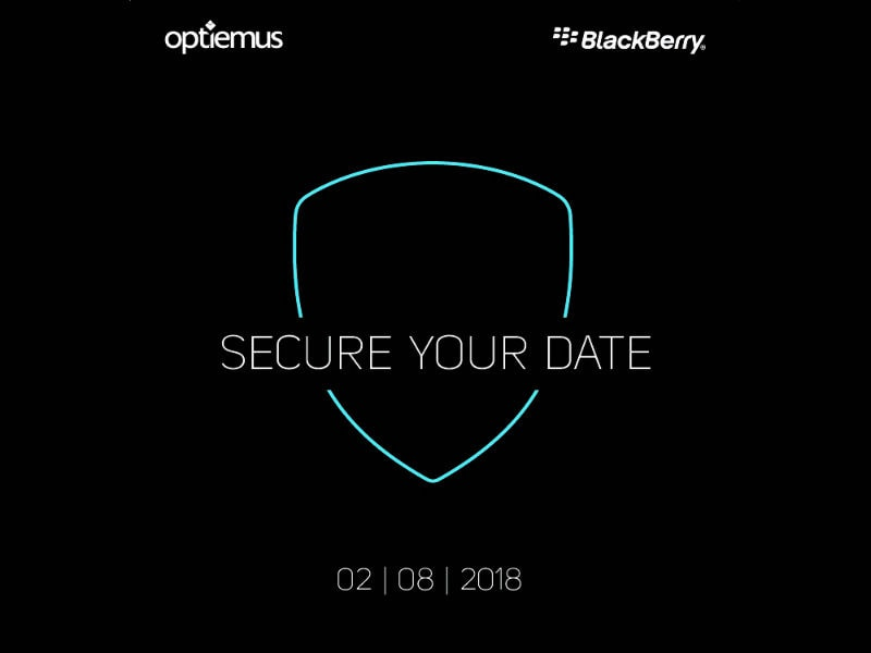 BlackBerry Evolve, Evolve X India Launch Expected Today at Optiemus Event