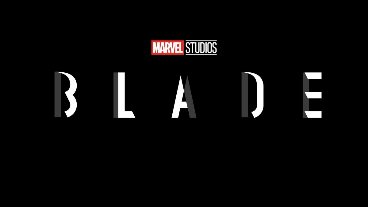 blade movie logo Blade Marvel movie logo