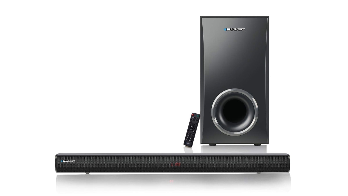 Blaupunkt SBWL-02 Soundbar With Wireless Subwoofer Launched in India at Rs. 9,990