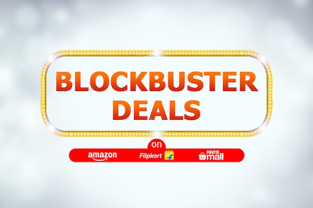 Today's Top Blockbuster Deals on Flipkart, Amazon, Paytm Mall Handpicked By Us