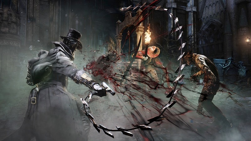 bloodborne weapon dual bloodborne