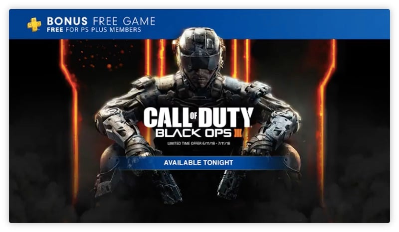 Call of Duty: Black Ops 3 Is Free for PS Plus Users