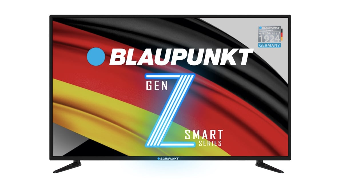 Blaupunkt Gen Z LED Smart TV Range Gets 43-Inch and 49-Inch Variants, Available on Flipkart