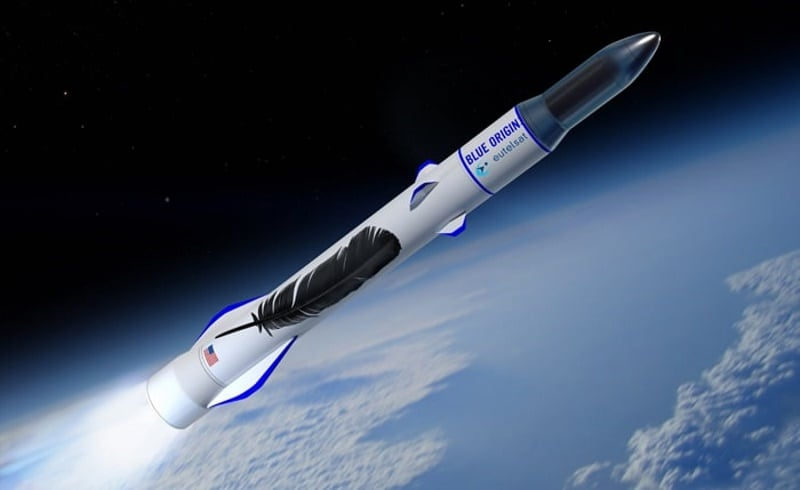 Bezos' Blue Origin Signs Eutelsat as Its First Rocket Customer