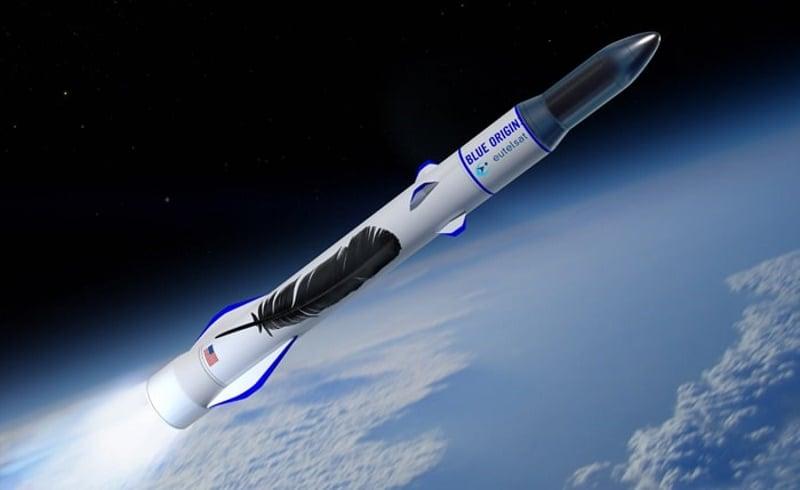 Bezos' Blue Origin Signs Eutelsat as Its First Rocket Customer