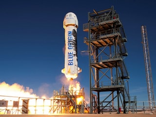 Blue Origin Shoots NASA Experiments Into Space in Test