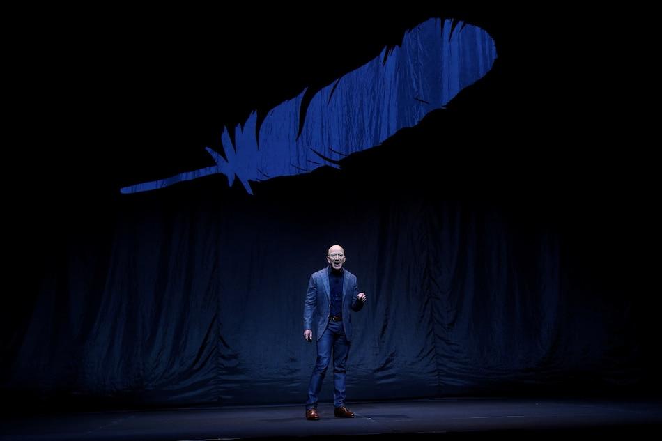 Jeff Bezos Said to Shift Space Venture Blue Origin Into Hyperdrive