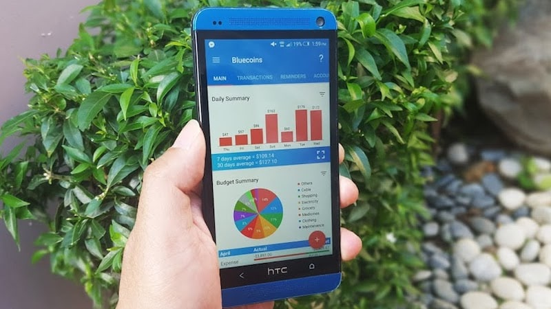 Bluecoins App on Android Is Great for Travellers Who Need To Track Their Budget