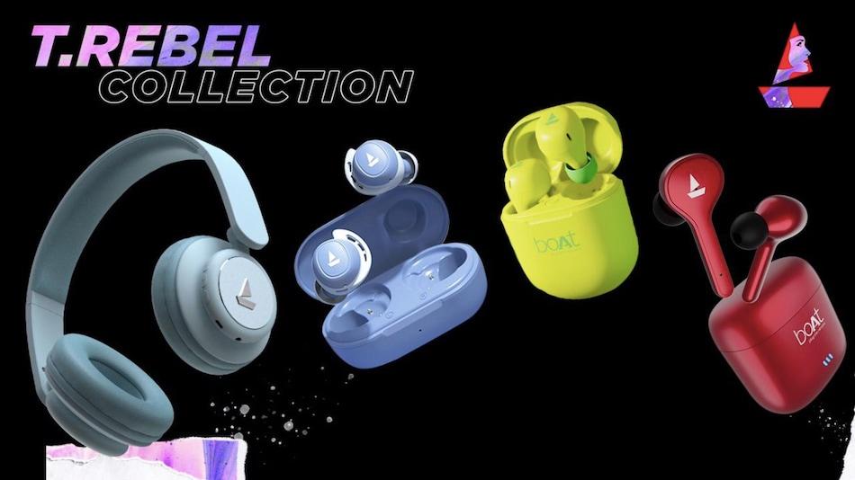 Boat TRebel Headphones and Earphones Range for Women Launched