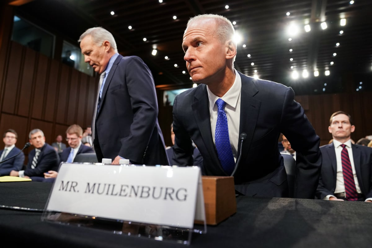 Boeing 737 Max Hearing: CEO Accused of Telling 'Half-Truths'