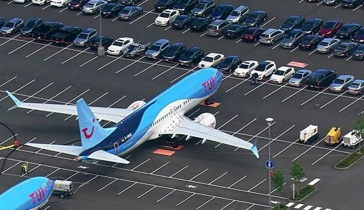 Boeing Forced to Park Grounded Planes in Staff Car Parking Lot
