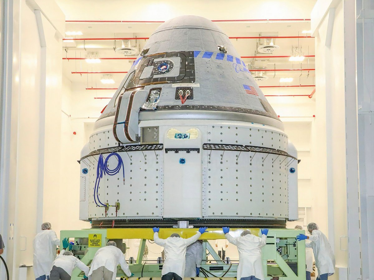 Boeing Starliner Spacecraft Set for First Launch to International Space Station This Week