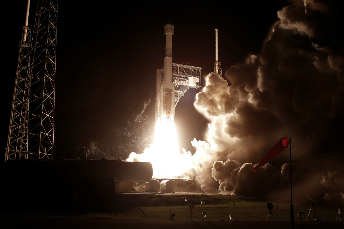 Boeing Spacecraft Returns for Earth After Aborted Mission