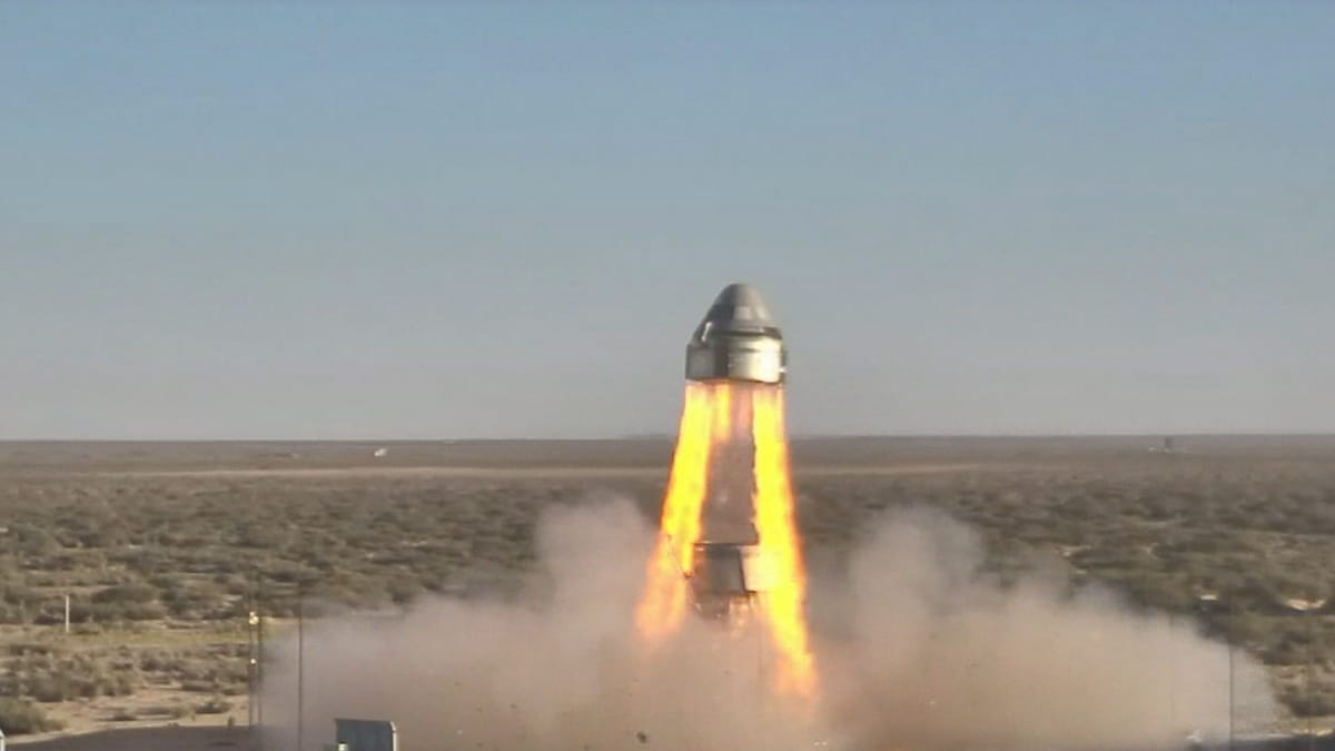Boeing Declares Spacecraft Abort System Test a Success, Despite the Failure of One Parachute