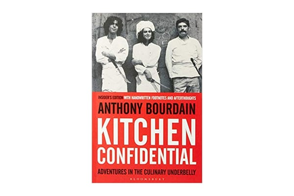 Kitchen Confidential by Anthony Bordain