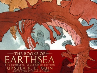 Earthsea Complete Edition, Red Moon Among Most Promising New Books