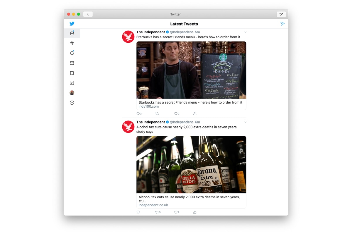 Twitter For Mac Returns To The Mac App Store Thanks To Apple S Project Catalyst Technology News