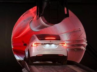 Elon Musk Says Boring Company's Las Vegas Tunnel to 'Hopefully' Be Operational Next Year