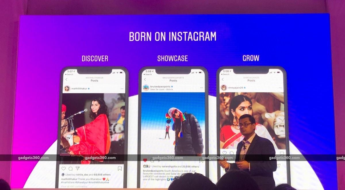 born on instagram 2 Instagram Born on India IGX