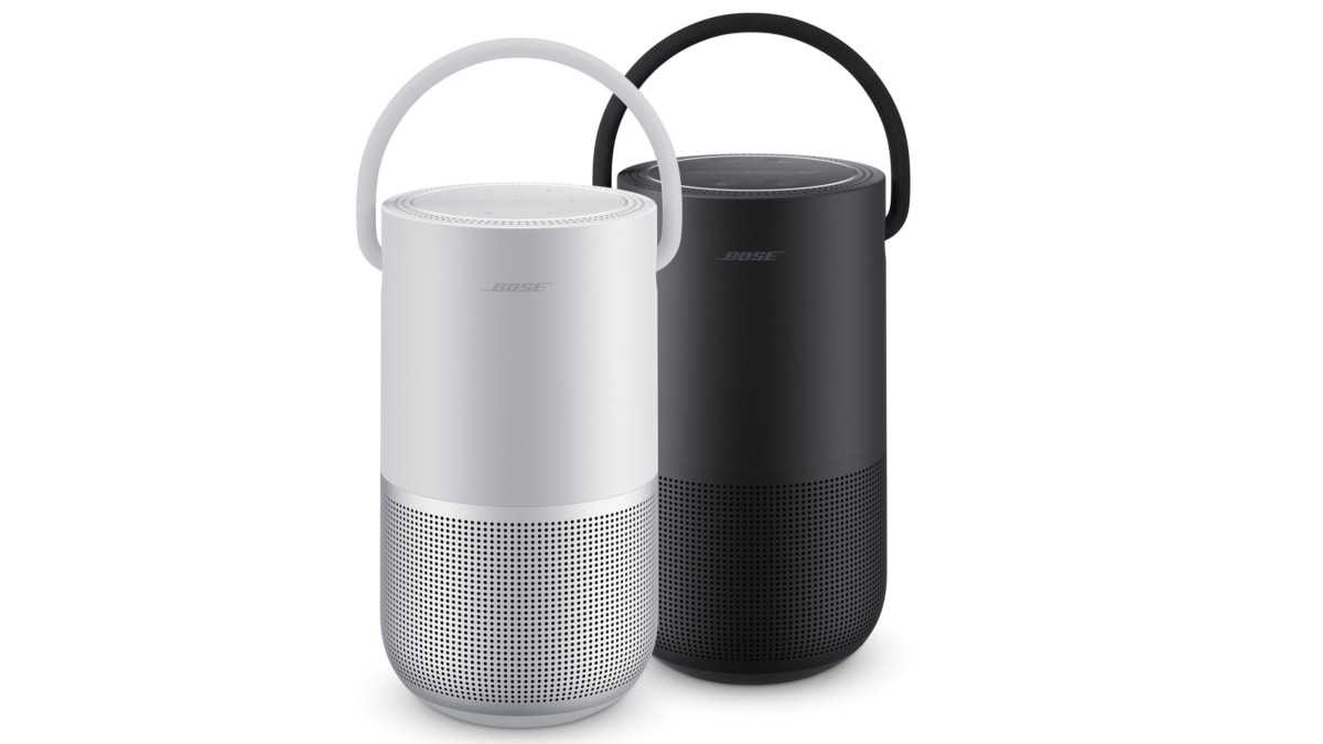 Bose Portable Home Speaker With Google Assistant and Alexa