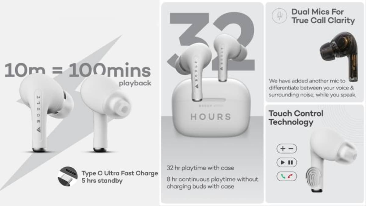 Boult Audio Freepods Pro TWS Earbuds With 32-Hour Battery Life Launched in India