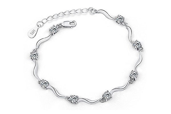 best bangle bracelets in india Yellow Chimes Bracelet for Women – Silver