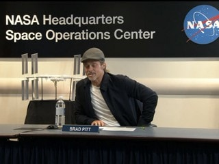 Ad Astra Star Brad Pitt Talks Weightlessness and Calluses on Phone Call to ISS