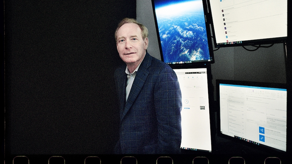 Microsoft President Brad Smith Says George Orwell's '1984' Could Become a Reality by 2024