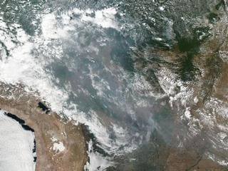 Amazon Rainforest Fires May Be Record Setting in Number This Year: NASA