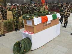 Tributes Paid For Border Security Force Jawan Killed Along LoC