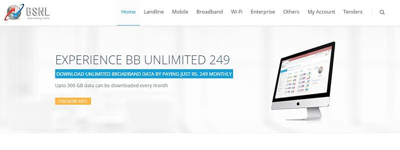 BSNL's New Plan Offers Up to 300GB Data per Month, Free Night Calls