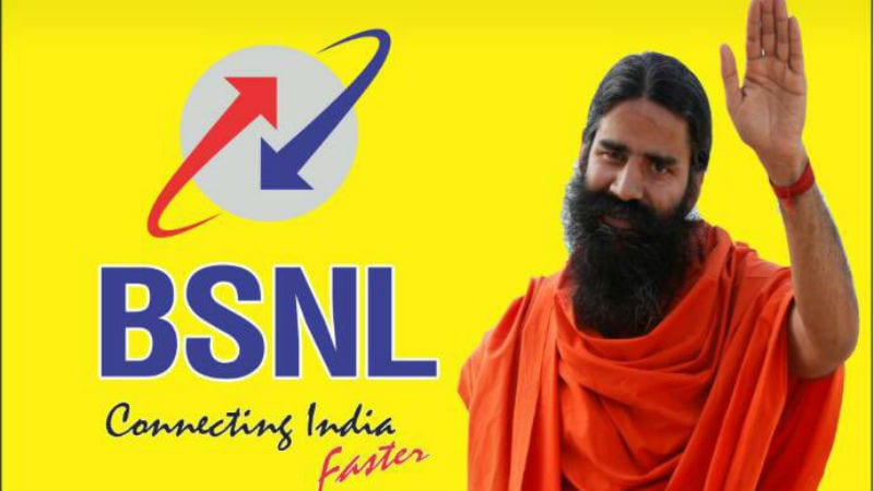 BSNL, Patanjali Launch Rs. 144, Rs. 792, Rs. 1,584 Recharges With 2GB Data per Day, Unlimited Voice Calls