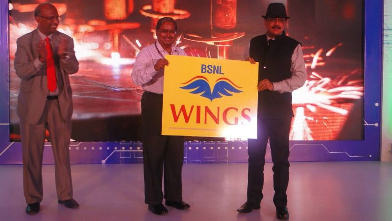 BSNL Unveils 'Wings' Internet Telephony Service and 'Pay per Use