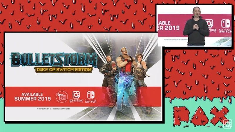 Bulletstorm Duke of Switch Edition Announced